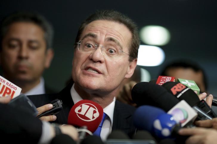 Presidente do Congresso Nacional, senador Renan Calheiros (PMDB-AL). (Foto: Reuters/Ueslei Marcelino)