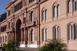 A Casa Rosada, sede do governo argentino. Foto: Guido Chouela/EBC