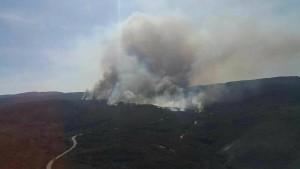 Áreas como Palmeiras e Lençóis sofrem com as queimadas. (Foto: Facebook/Chapada Diamantina)