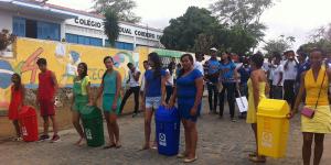 Alunos participam dos projetos escolares para a sustentabilidade. (Foto: Acervo pessoal / Ascom Educação)