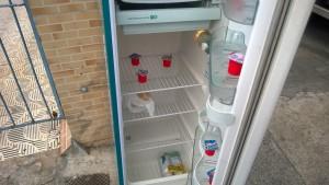 Para alcançar seu propósito, geladeira precisa contar com doações. Foto: João Brandão