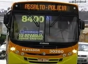 Em Minas, o letreiro digital reduziu assalto de forma drástica Foto: Divulgação