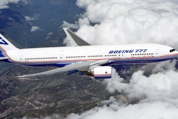 Boeing 777. (Foto: Reprodução/Wikipedia)