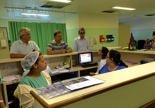 Fiscais da Saúde fazem blitz em hospitais e maternidades Foto Divulgação