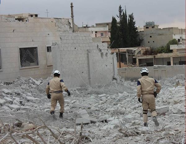 Ataque na Síria. (Foto: Civil Defense Idlib/Fotos Públicas)