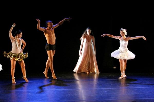 Espetáculo de dança no Teatro Castro Alves. Foto: Agecom/Ba