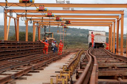 Obras da Ferrovia de Integração Oeste-Leste. Foto: Elói Corrêa/ Secom Cidade de Brumado Foto: Elói Corrêa/GOVBA
