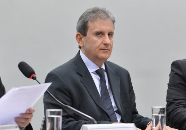 Um dos condenados, o doleiro Alberto Youssef. (Valter Campanato/Agência Brasil)