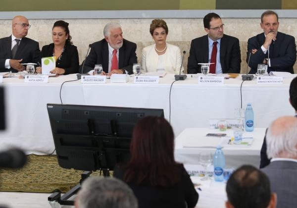 Brasília- DF 28-01-2016 Foto Lula Marques/Agência PT Presidenta Dilma durante abertura do 44ª Reunião Ordinária do Pleno do Conselho de Desenvolvimento Econômico e Social-CDES