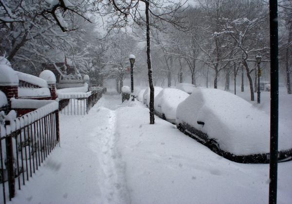Nevasca nos EUA (Foto Wikipedia)