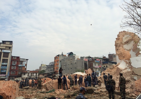 Foto ilustrativa terremoto (Foto: Reprodução Wikipedia)