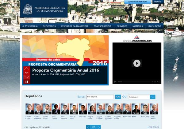 Foto: Reprodução/ Site al.ba.gov.br