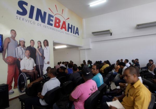 SineBahia intermedia emprego para população Foto: Elói Corrêa/GOVBA