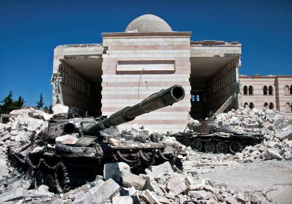 Bombardeio na síria (Foto Reprodução Wikipedia)