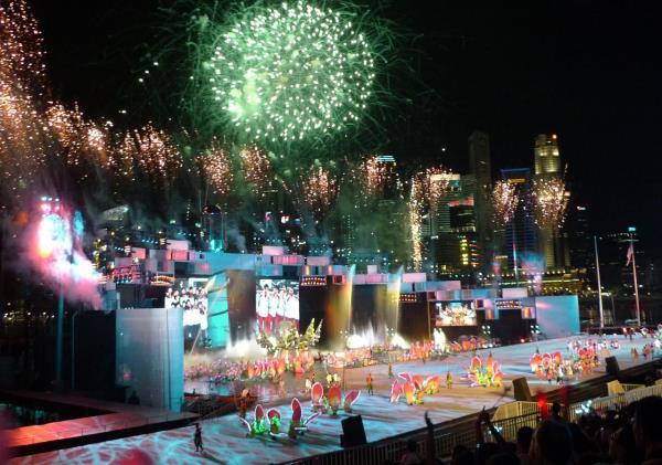 Abertura dos Jogos Olímpicos (Foto reprodução Wikipedia)