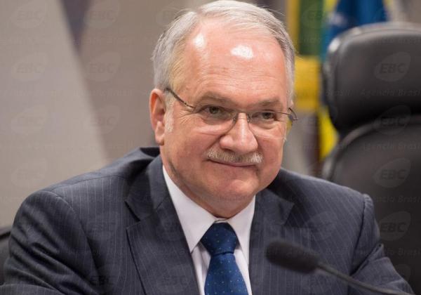 Fachin é o relator do caso que apura se Renan cometeu crime de peculato (Foto: Mais PB)