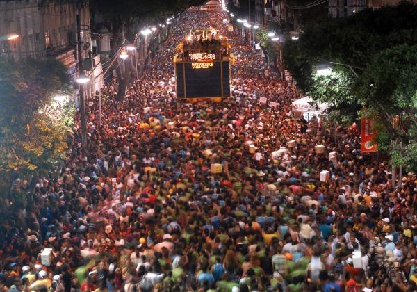 Carnaval em Salvador (Foto Reprodução Wikipedia)