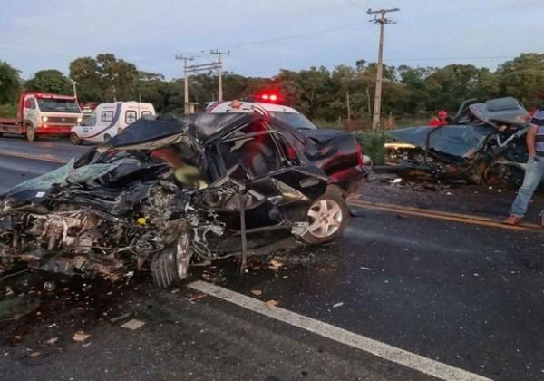 Colisão em Barreiras fez quatro mortes (Foto: Blog do Sigi)