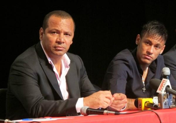 Neymar e o pai (Foto: Divulgação)