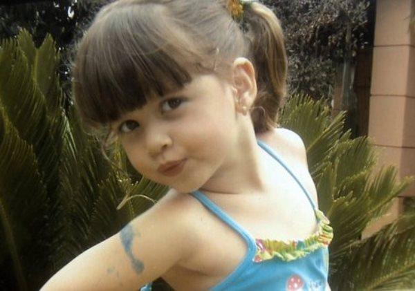 Beatriz Angélica Mota, 7 anos, morta dentro de uma escola em Petrolina (PE), na divisa com a Bahia. Foto: Reprodução