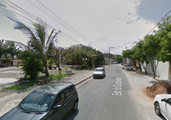 Estrada do Curralinho. Foto: Reprodução/Google Street View
