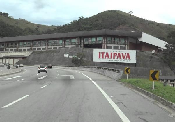 Fábrica da Itaipava, em Petrópolis Foto reprodução youtube