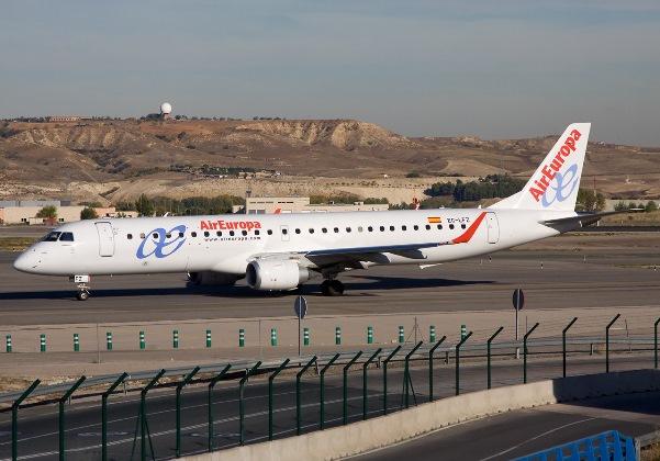 empresa Air Europa (Foto Reprodução wikipedia)