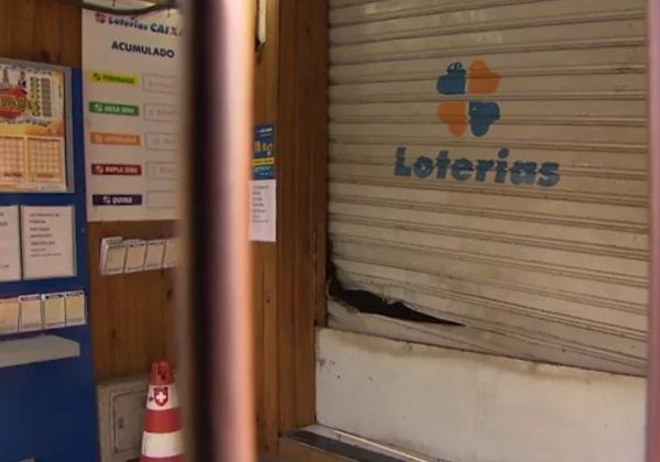 Invasão a Casa Lotérica, no Canela, em Salvador. Foto: Reprodução/TV Bahia