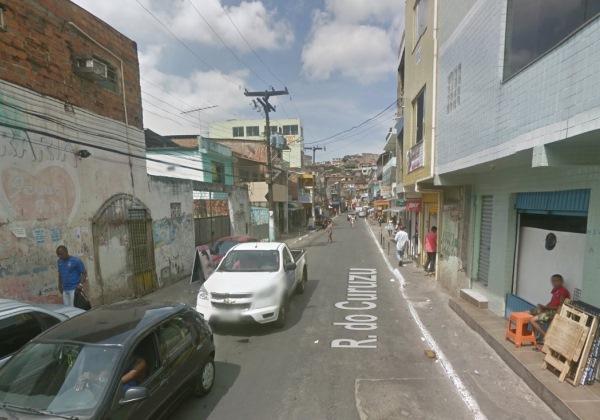 Rua do Curuzu. Foto: Reprodução/Google Street View