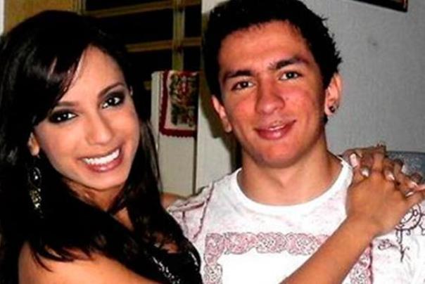 Anitta e o irmão Renan Machado. Foto: Divulgação