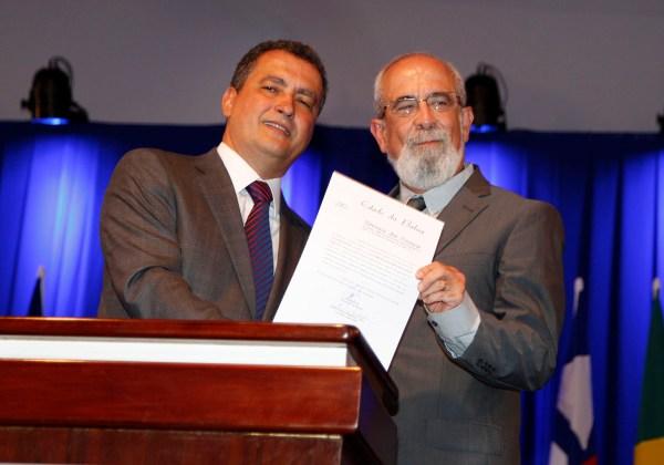 Ex-diretor da OAS, Bruno Dauster, empossado chefe da Casa Civil da Bahia   Foto Mateus Pereira/GOVBA