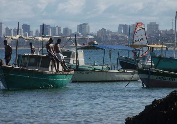 Pescadores da Colonia de Pesca de Itapua Foto reproduçao Blog Itapua City