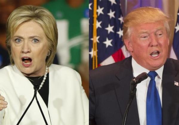 Eleições americanas: Hillary e Donald (Foto Agencia Brasil)