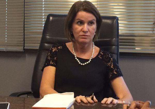 A, a procuradora Ediene Lousado é a primeira mulher a assumir a chefia do Ministério Público da Bahia (Foto: bahia.ba)