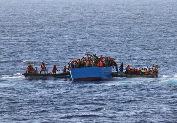 Imigrantes (Foto: Winkler/Bundeswehr)
