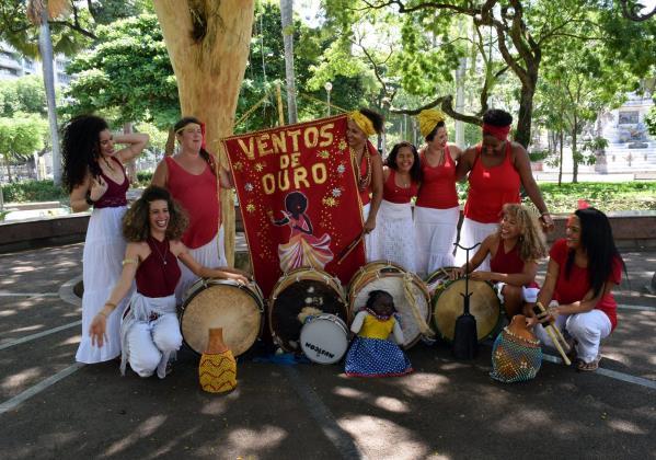 Maracatu Ventos de Ouro. Foto: Divulgação