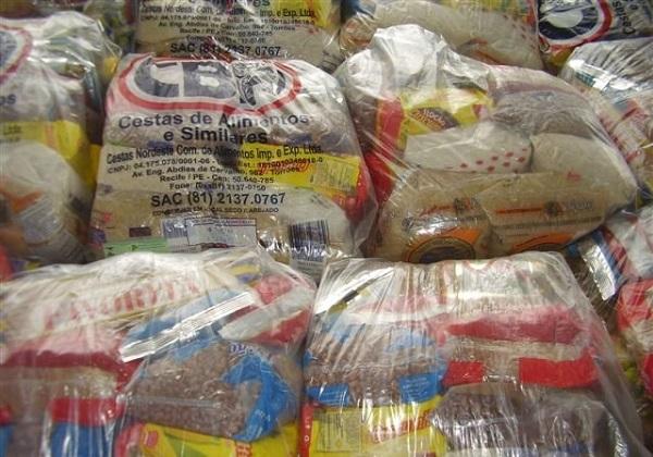 Feirão oferece 500 cestas básica a preços mais baratos em supermercado de Paripe (Foto: Divulgação)