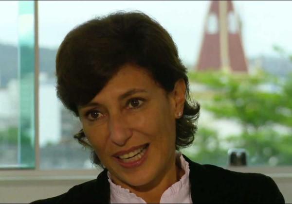A economista Maria Silvia Marques é a primeira mulher a integrar o governo do presidente Temer (Reprodução/YouTube)