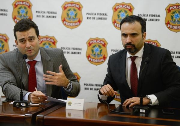 PF faz coletiva de imprensa sobre desvio de recursos de fundos de pensão