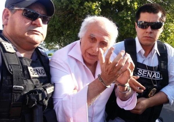 Roger Abdelmassih, de 72 anos, já respondia ao primeiro processo por abusar sexualmente de 37 pacientes (Foto: Secretaria Nacional de Antidrogas do Paraguai)
