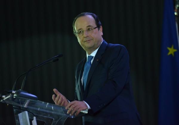 Presidente da França, François Hollande (Foto José Cruz/Agencia Brasil)