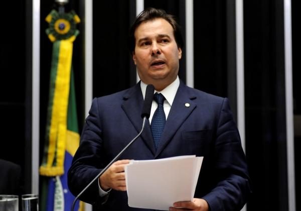 Rodrigo Maia (DEM-RJ) é eleito o novo presidente da Câmara (Foto: Gustavo Lima/ Câmara dos Deputados)