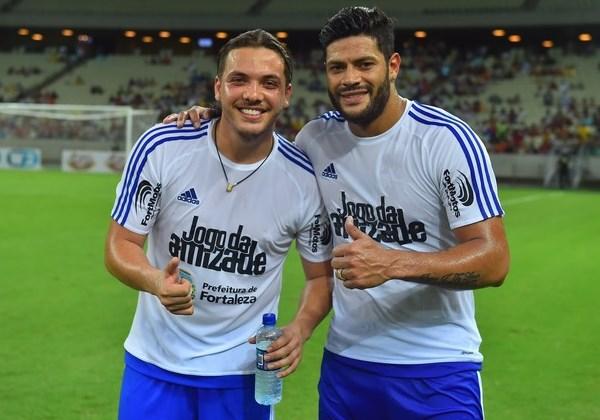 Wesley Safadão e Hulk (Foto: Reprodução Instagram)