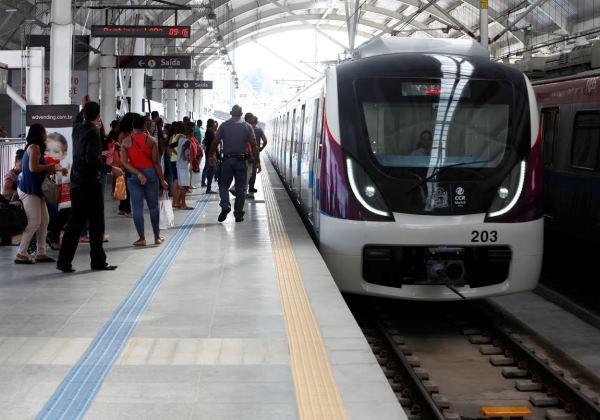 Integração Metrô e Ônibus MetropolitanosFoto: Eloi Corrêa/GOVBA