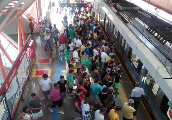 Foto: Divulgação/CCR Metrô Bahia