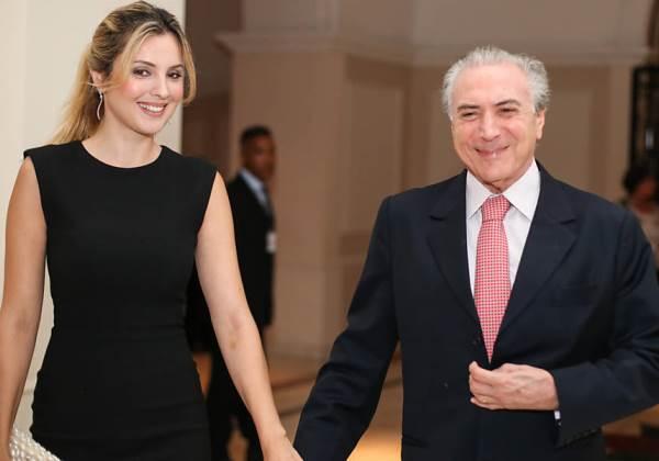 Marcela e Michel Temer (Foto: Divulgação)