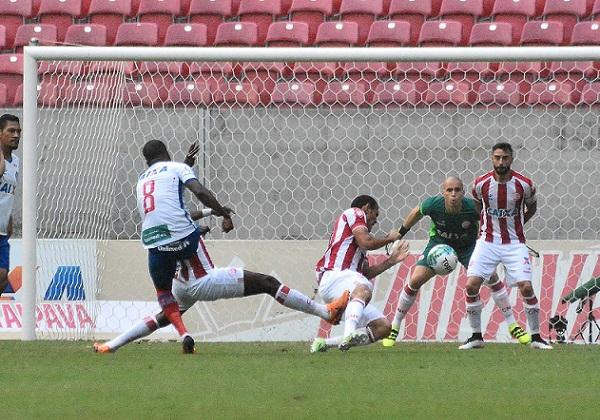 Partida entre Náutico PE e Bahia BA, válida pela Série B, do Campeonato Brasileiro 2016 (Foto: ADEMAR FILHO/FUTURA PRESS/FUTURA PRESS/ESTADÃO CONTEÚDO)