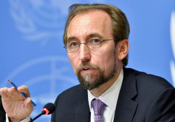 Zeid Ra'ad al-Hussein, chefe comissariado Direitos Humanos ONU (Foto: Divulgação)