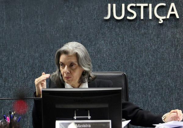 Ministra Cármen Lúcia, presidente do CNJ e STF (Foto: Gil Ferreira/Agência CNJ