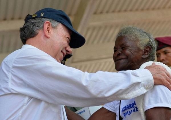 Juan Manuel Santos (Foto: Reproduçao Twitter)
